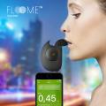 FLOOME フルーミィ スマホアプリ連動 アルコールチェッカー スマートフォン ブラック/レッド