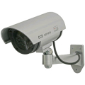 防犯カメラ ダミー 家庭用 / ダミー防犯カメラ LED付き 屋外設置型 ダミーカメラ DC-027IR