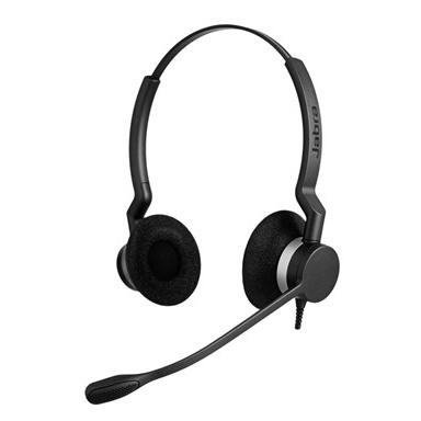 【送料無料】Jabra製 USBヘッドセット Jabra BIZ 2300 USB DUO(両耳タイプ)(2399-829-109)
