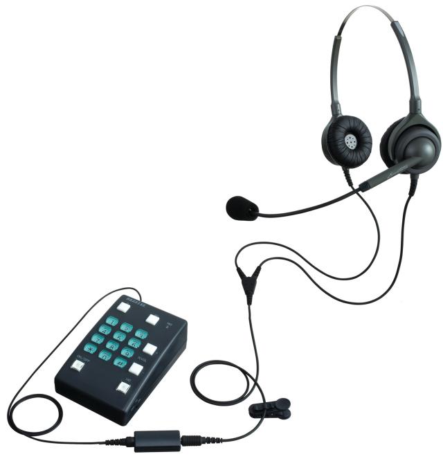 エンタープライズヘッドセット型電話機 両耳タイプ ブレステル2 BRESTEL2