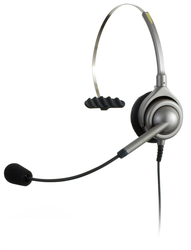 【送料無料】アンプ不要 IPヘッドセット トップ部片耳タイプ ※接続コード無し/エンタープライズ(日本製) /ENIP-(SB)