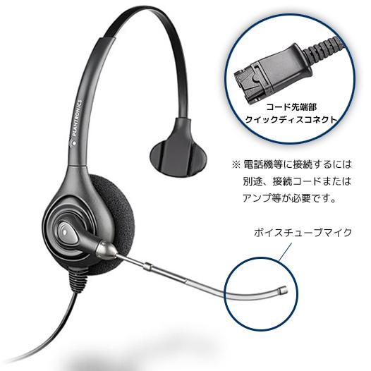 【送料無料】Plantronics(プラントロニクス) HW251 スープラプラス・ワイドバンド