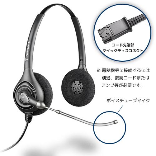 【送料無料】Plantronics(プラントロニクス) HW261 スープラプラス・ワイドバンド