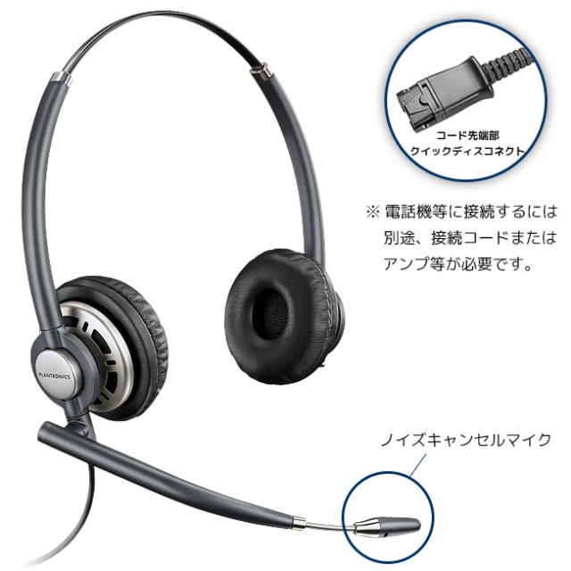 【送料無料】Plantronics(プラントロニクス) HW720 アンコアプロ・ワイドバンド