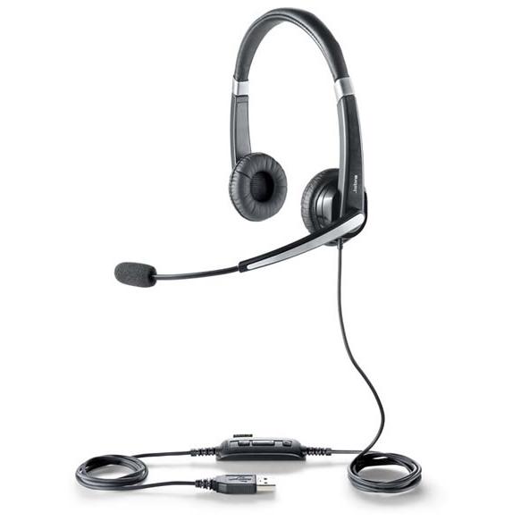 【送料無料】Jabra製 USBヘッドセット Jabra UC Voice 550 duo(両耳タイプ)(5599-829-209)