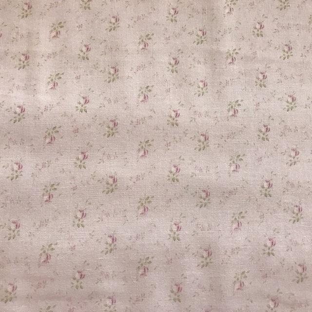 【花柄】【パッチワーク用布】【YUWA】【メール便可】   シャーティングfairyrose ミニ薔薇 パープル