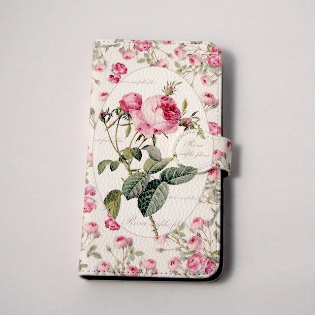 【ルドゥーテ】【薔薇柄】【メール便可】ルドゥーテローズ スマホケース