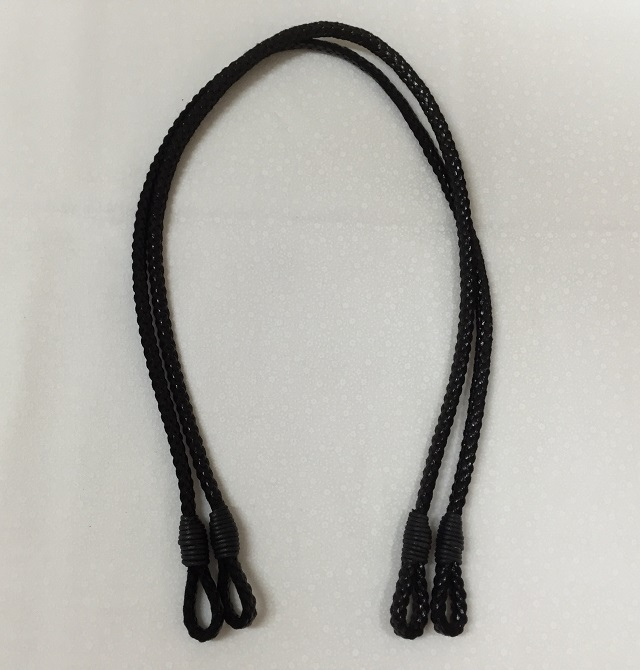 【SALE】【バッグ持ち手】【メール便可】 お買い得 バッグ持ち手 黒 65cm