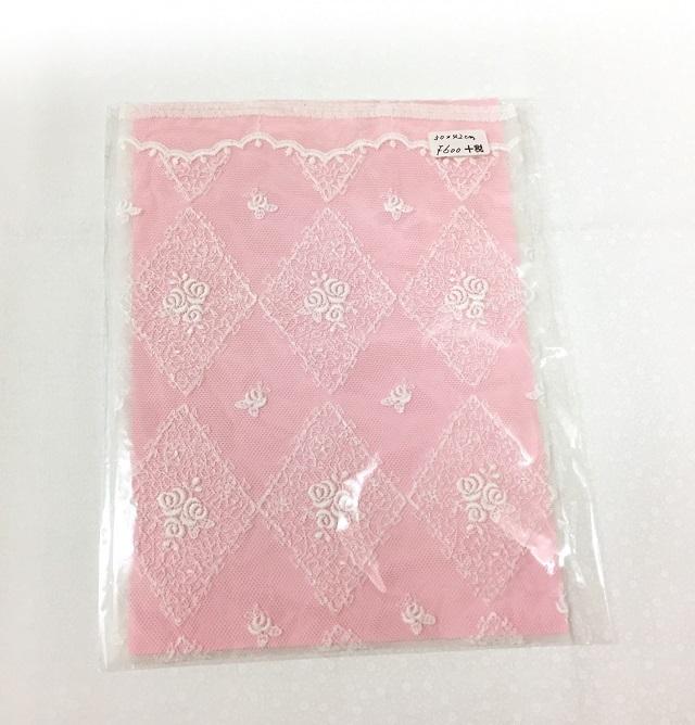 【レース生地】【刺繍】【ホワイト】【メール便可】ルシアンファンシーレースコレクション13370-1 カット 30x42cm