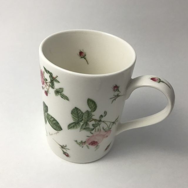 【ルドゥーテ】【薔薇柄】【陶磁器】 ルドゥーテ バラ柄 マグカップ
