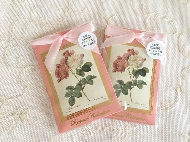 【ルドゥーテ】【薔薇柄】【サシェ】【メール便可】 ルドゥーテ サシェ クラシックローズ
