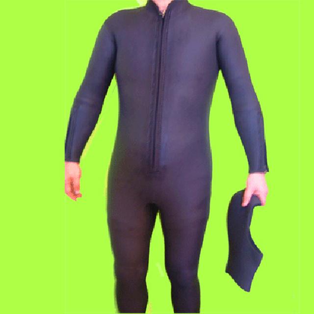 【特価】クロッツ ダイビング 2点セット メンズ(フルスーツ/ダイブフード) 5mm S/J(シャークスキン/ジャージ) フロントファスナー