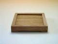 【中国茶具】方竹杯托(木・竹製)