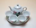 【中国茶器セット】烏龍茶用ミニ茶器セット