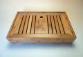 【中国茶具】天然竹製角型茶盤(中)