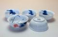 【中国茶具】白磁丸型茶杯