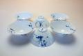 【中国茶具】白磁三角型茶杯
