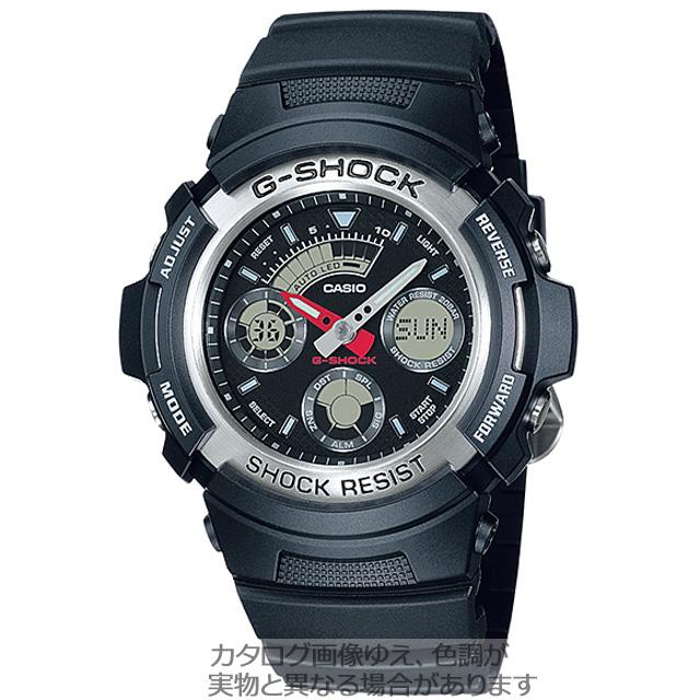 G-SHOCK「アナログ/デジタルのコンビ」AW-590-1AJF
