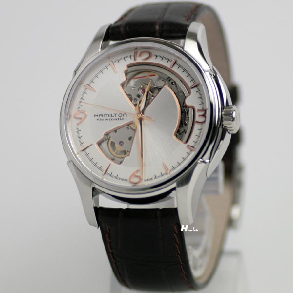 ハミルトン・ジャズマスター・ビューマチック・オープンハート(自動巻き腕時計)