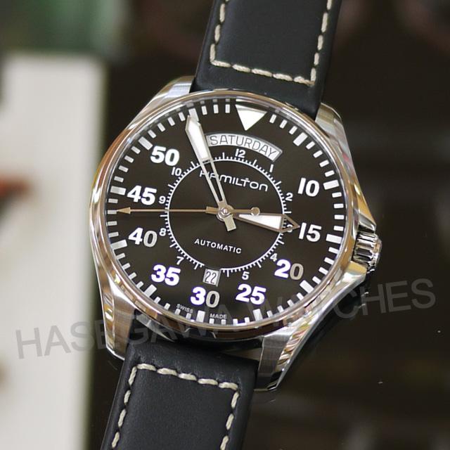 ハミルトン・カーキパイロットオート・デイデイト【国内正規品】腕時計H64615735