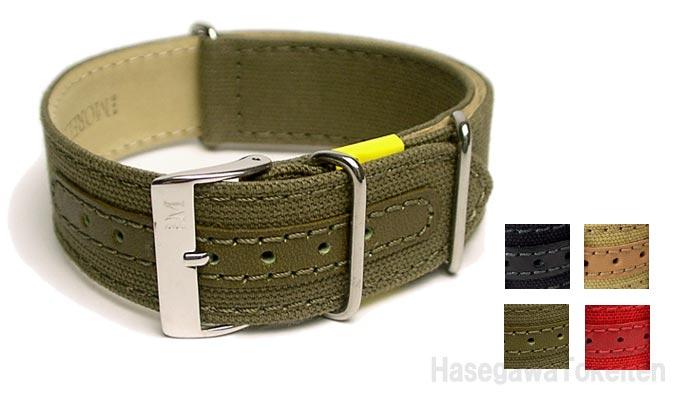 イタリア・モレラート製腕時計用ベルトJUMP(ジャンプ)詳細写真a