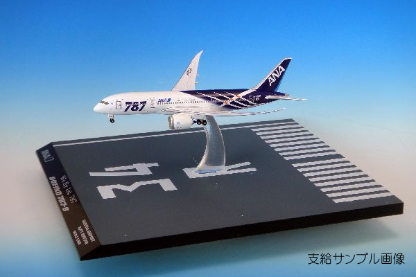 JA801A 1:400 飛行姿勢