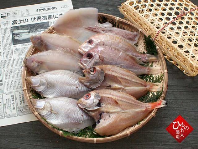 名人の干物 お誕生日新聞セット-和光 640
