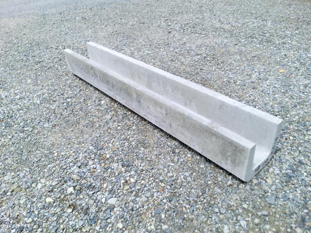 U字溝 溝幅100 長さ1mタイプ  24kg/本 ★細い側溝ならコレ