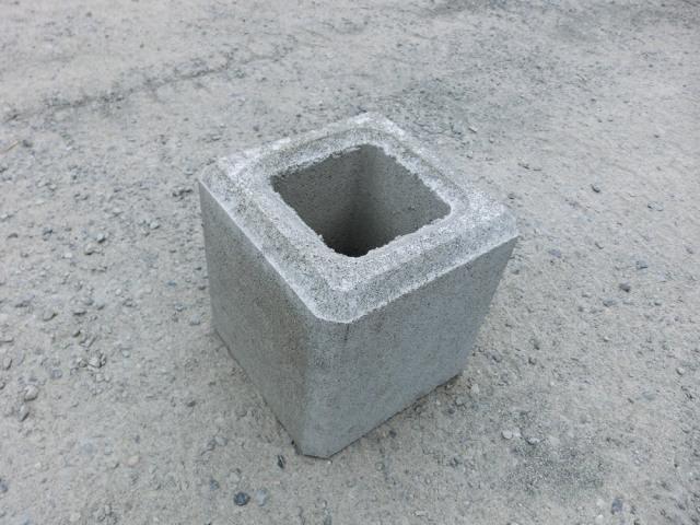 フェンス基礎ブロック 200角×H200  11kg