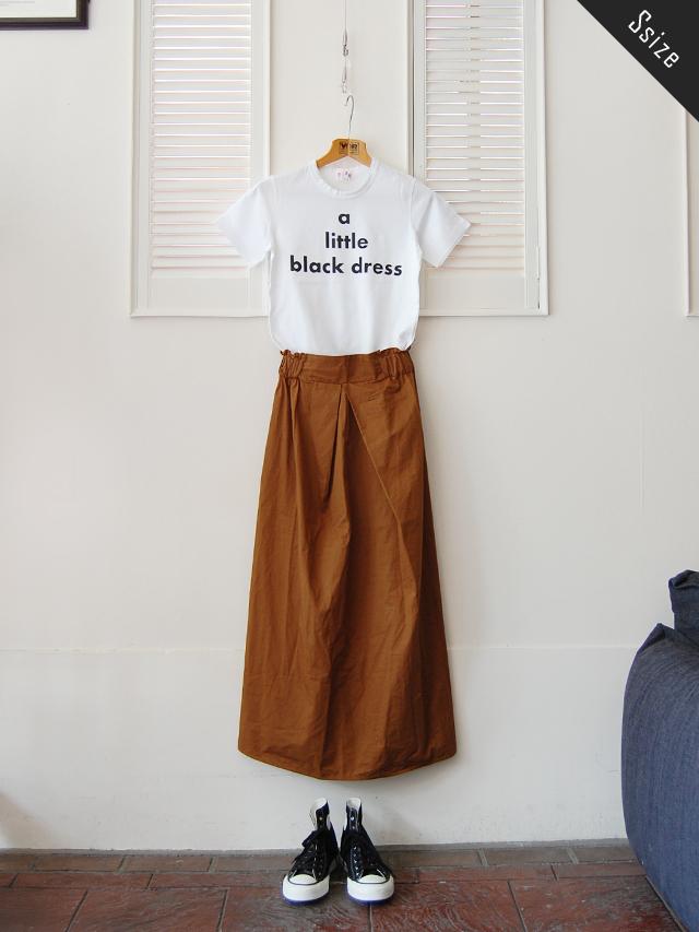 シルケット天竺 メッセージプリントTシャツ