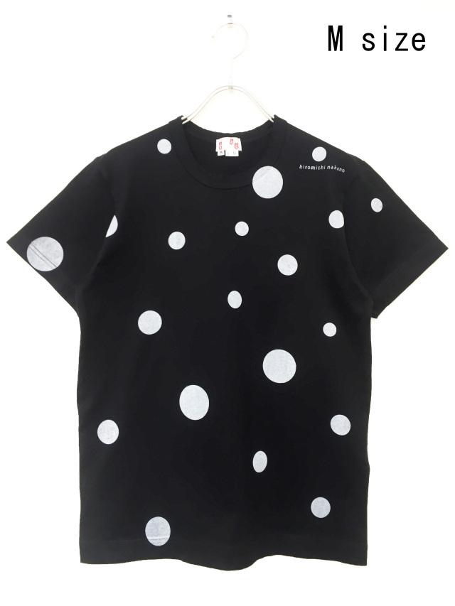 水玉、Tシャツ、半袖、ドット、プリント