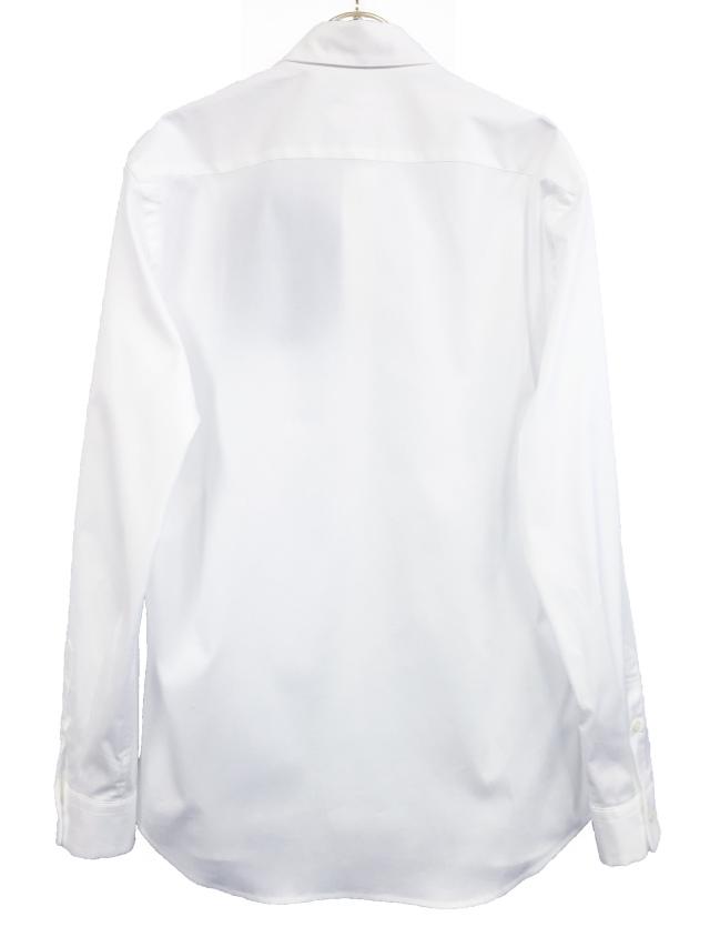 メンズ、シャツ、ベーシック、綿、モノトーン