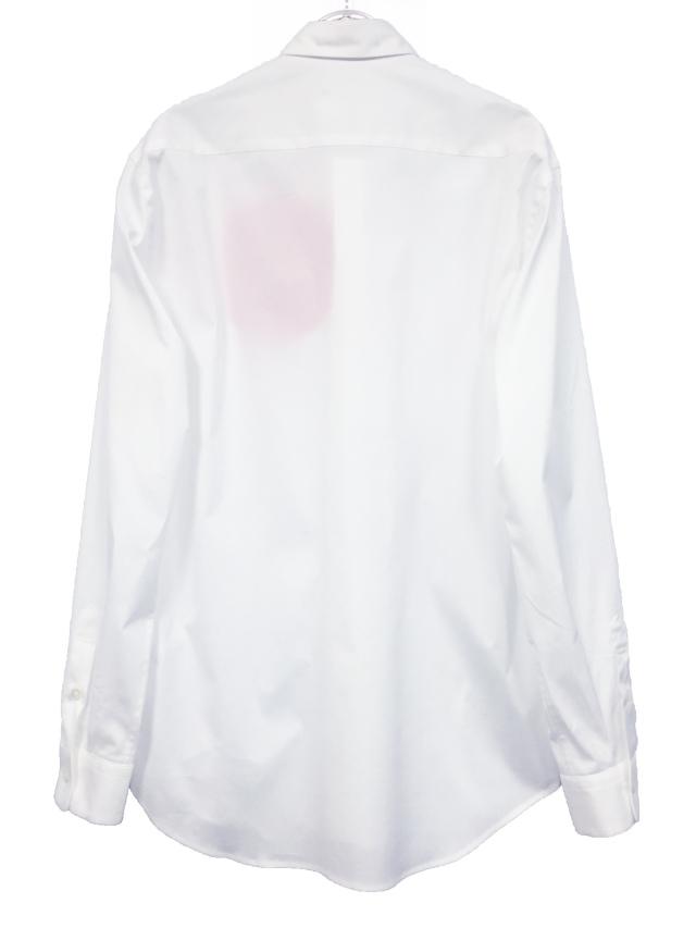 メンズ、シャツ、水玉、綿、ベーシック