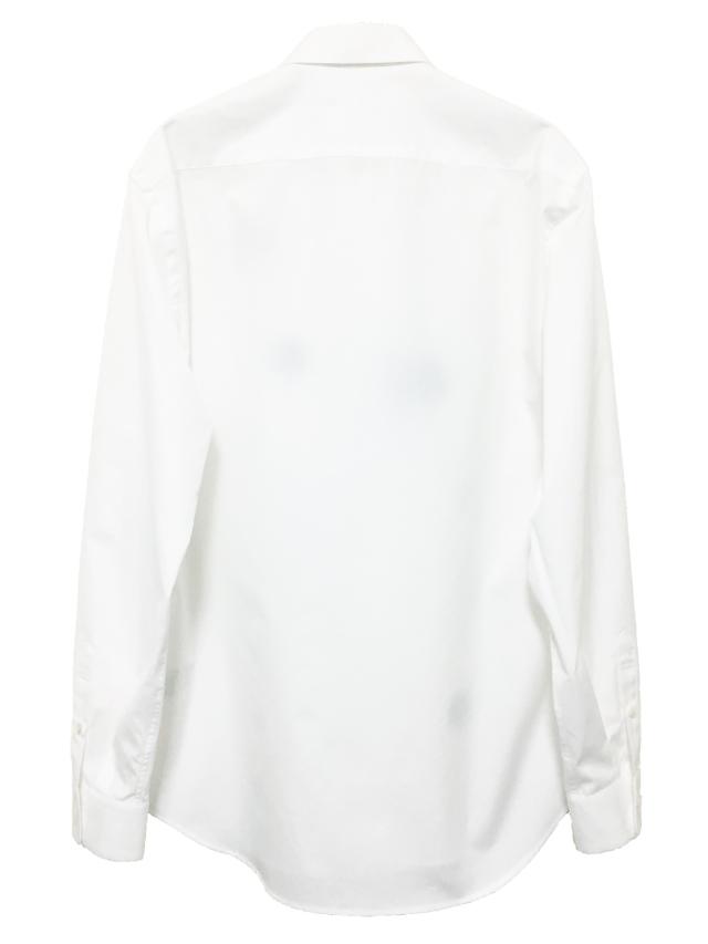 メンズ、シャツ、水玉、ドット、長袖