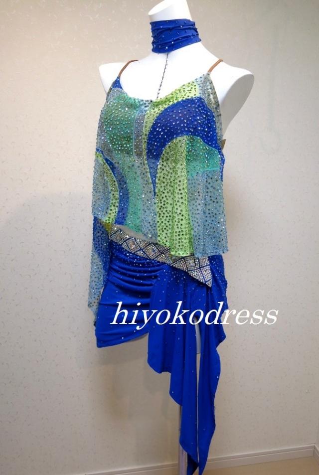 L1106 ヤナギダ製 ブルードレス