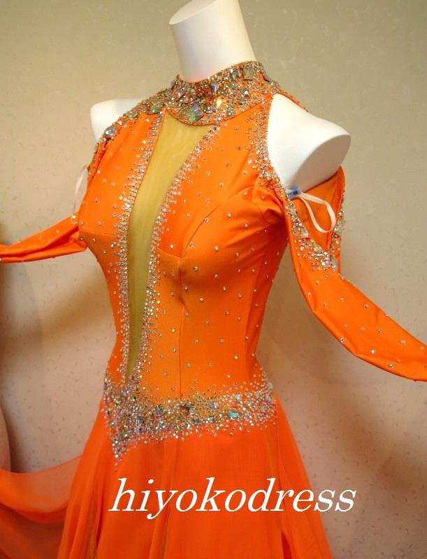 M1109 オレンジスタンダードドレス