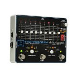 electro harmonix「8step Program Sequencer」(Noise系)