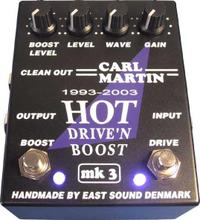 CARL MATIN「HOT DRIVE'N BOOST MK3」