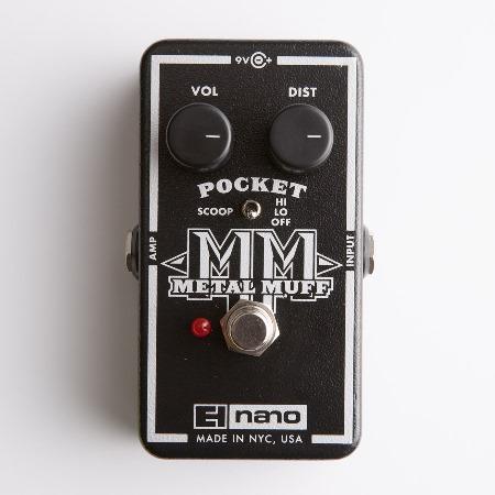 electro harmonix 「Pocket Metal Muff」
