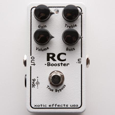 Xotic 「RC Booster」【再入荷しました!!】