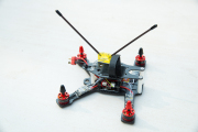 Grasshopper 160 クアッドコプター ARFキット RCX1407 3200KVモーター RCX20AESC CC3D V2.0 4S対応