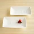 白山陶器 升目紋長角皿(小)
