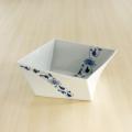 【和食器通販ショップ藍土な休日】そうた窯 帯花唐草角捻り鉢