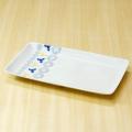 【和食器通販ショップ藍土な休日】和山窯 ガーデン プレート 焼皿 長角皿