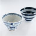 【和食器通販ショップ藍土な休日】工房禅 横田 勝郎  染付5寸どんぶり