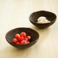 和食器通販ショップ 藍土な休日  陶仙房・山本英樹 玄釉ミニ小鉢