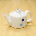【和食器通販ショップ藍土な休日】 有田焼 一峰窯 青玉 ポット 茶器