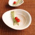 粉引カレー皿