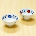 【和食器通販ショップ藍土な休日】 有田焼 皓洋窯  花つなぎ 丸お茶碗