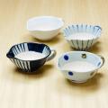 【和食器通販ショップ 藍土な休日】 波佐見焼 長十郎窯 機能的&かわいい 納豆鉢(4柄)